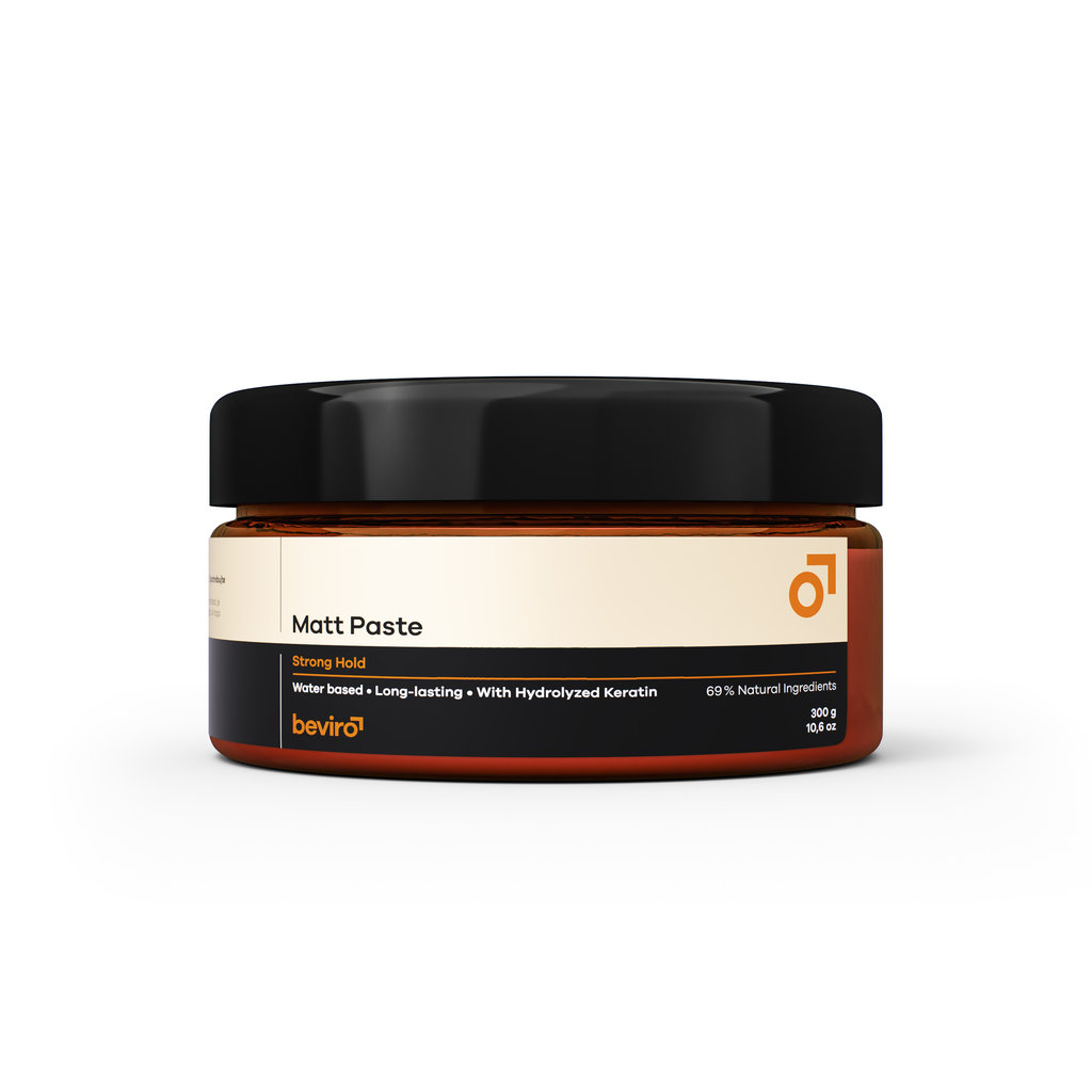Beviro Matt Paste Strong Hold 300 g - BARBERS ONLY