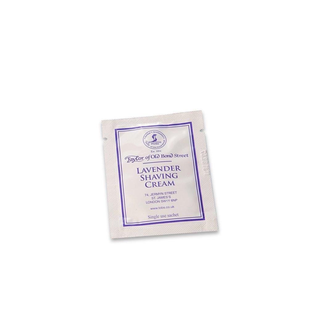 Sample shaving cream 5ml Lavender