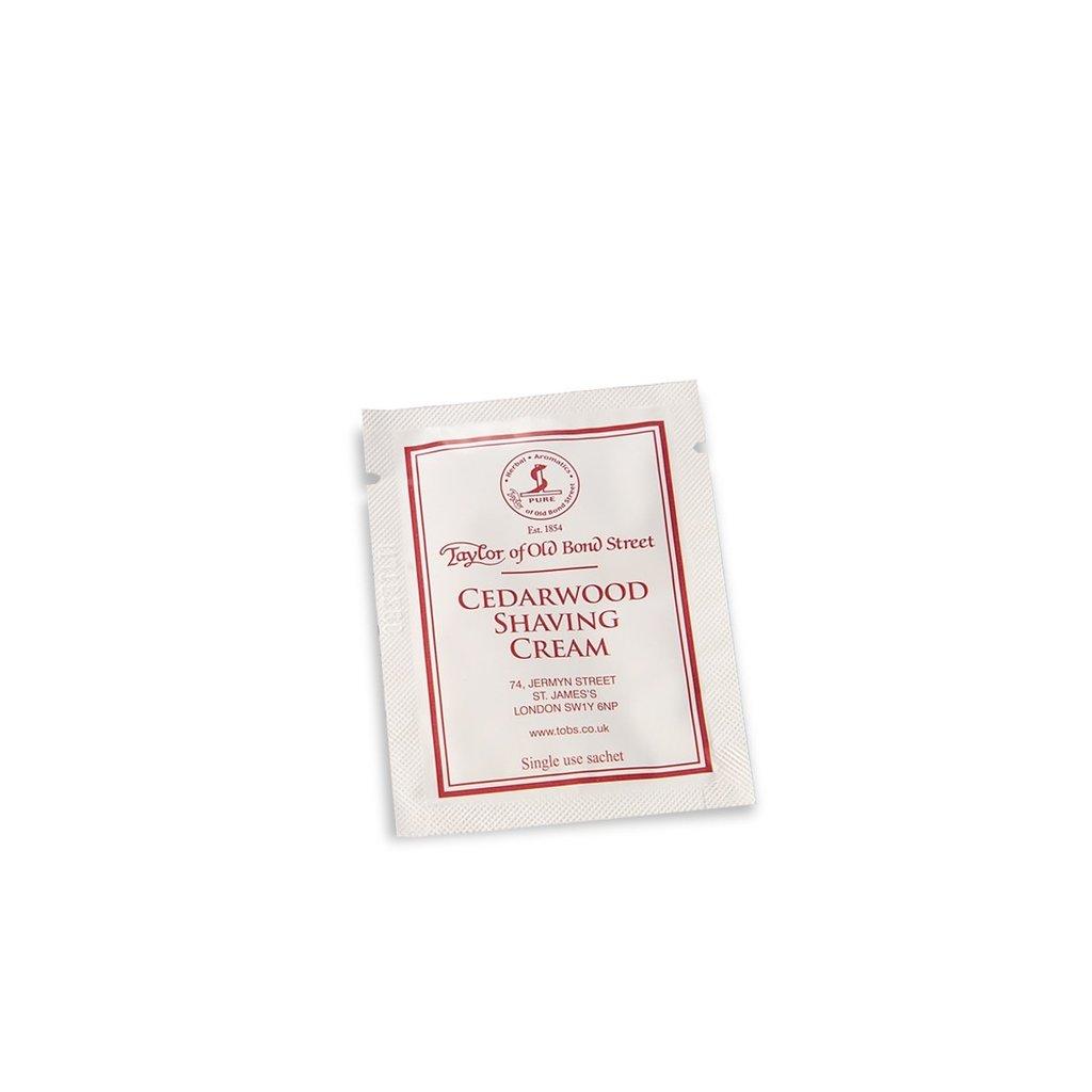 Sample shaving cream 5ml Cedarwood