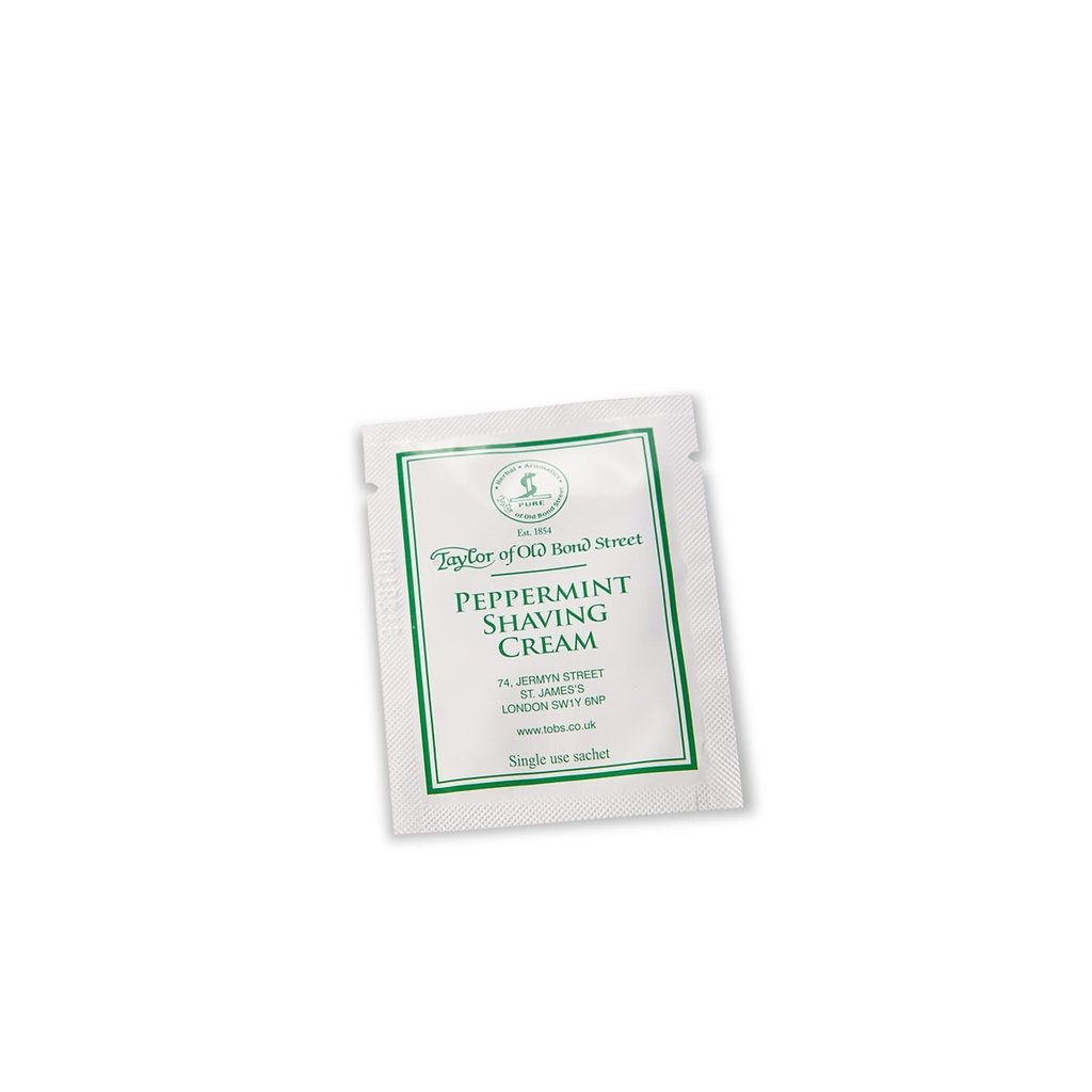 Sample shaving cream 5ml Peppermint