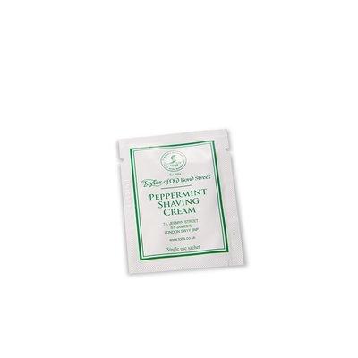 SAMPLE01018 - Sample shaving cream 5ml Peppermint