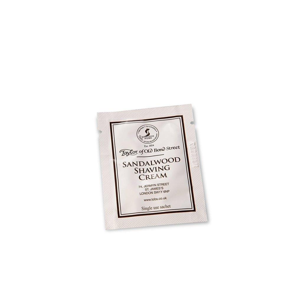 Sample shaving cream 5ml Sandalwood