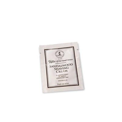 SAMPLE01001 - Sample Scheercrème 5ml Sandalwood
