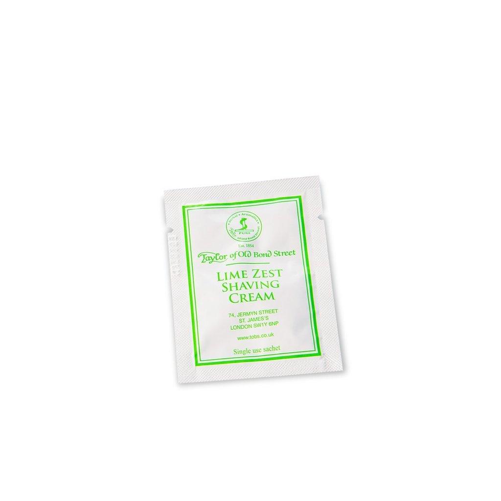 Sample shaving cream 5ml Lime Zest