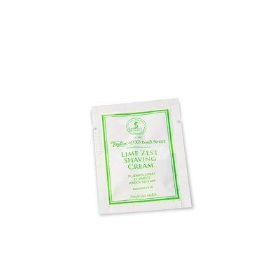 SAMPLE00997 - Sample shaving cream 5ml Lime Zest