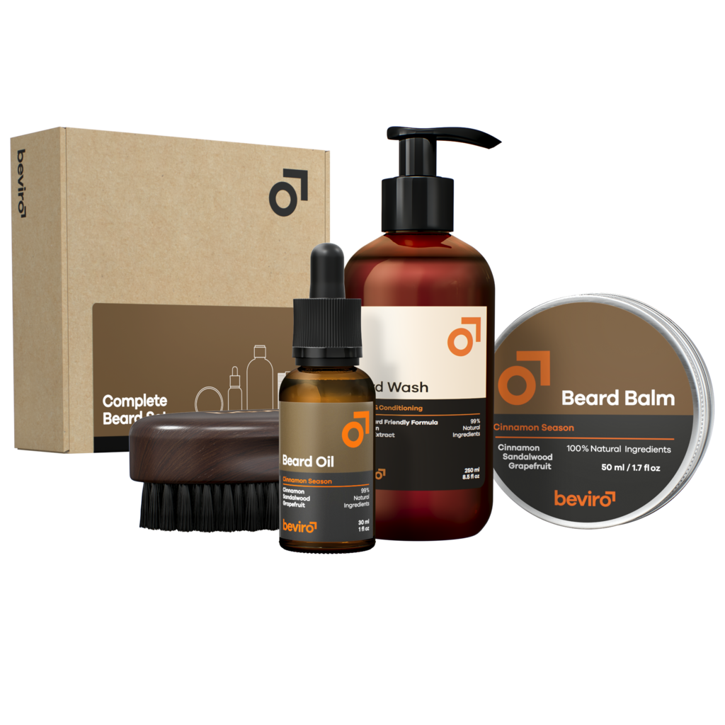Beviro Complete Beard Set - Cinnamon Season
