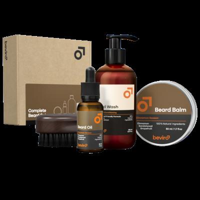 Beviro BV007 - Complete Beard Set - Cinnamon Season
