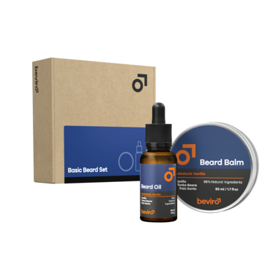 Beviro BV005 - Basic Beard Set - Honkatonk Vanilla