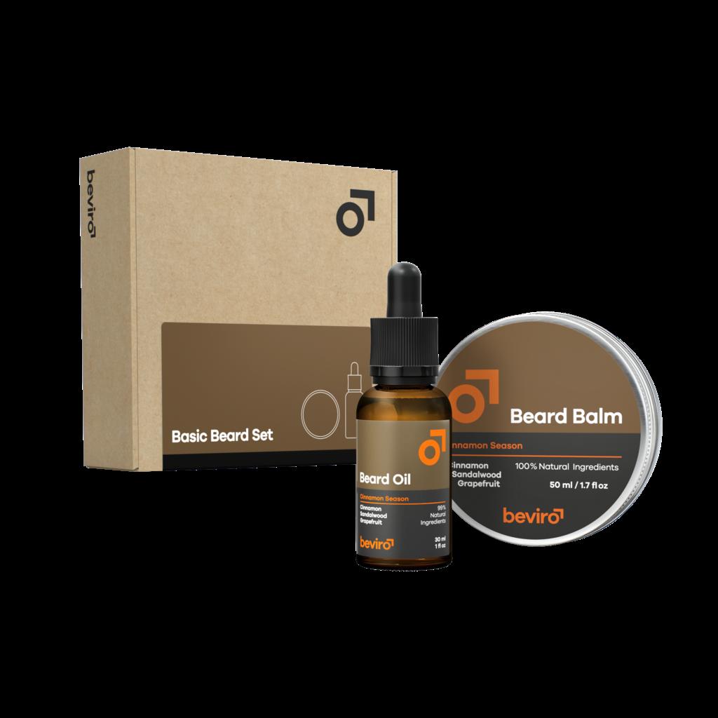 Beviro Basic Beard Set - Cinnamon Season
