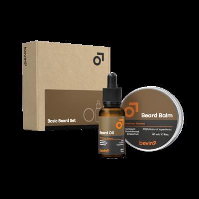 Beviro BV004 - Basic Beard Set - Cinnamon Season