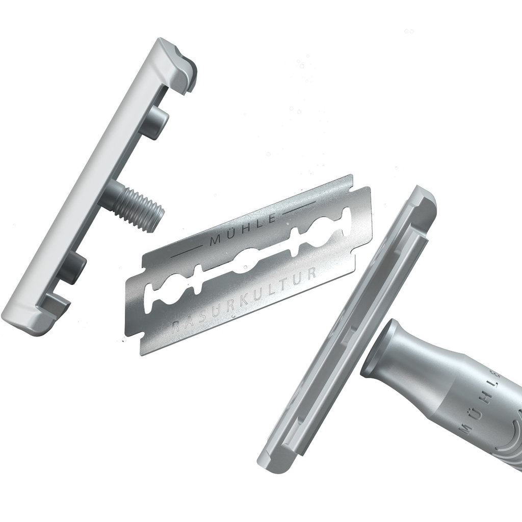 RCOM01 - Unisex Safety Razor - Stone