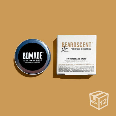 BOX 12x - Beard Scent® Bomade - Medium - 18g
