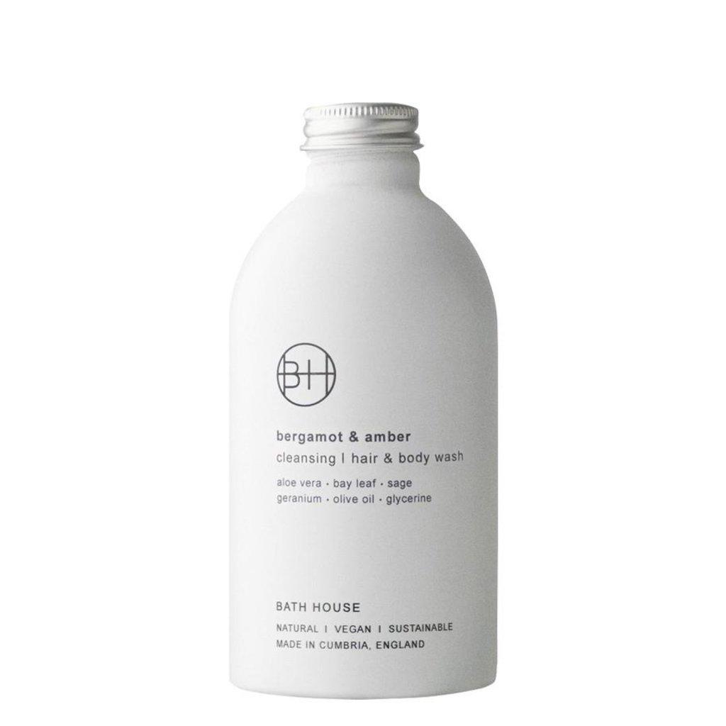 Hair & Body Wash 300ml Bergamot & Amber