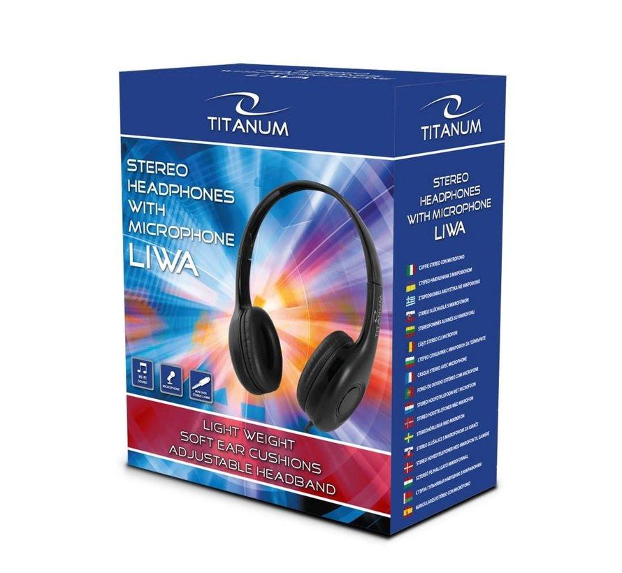 Titanium Headset Std Mini Jack 3.5mm Microphone