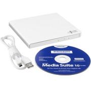 LG Opti DVD±RW Hitachi- Writer 24speed USB Extern White Slim (14mm )