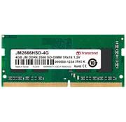 Transcend JetRam JM2666HSD-4G geheugenmodule 4 GB DDR4 2666 MHz