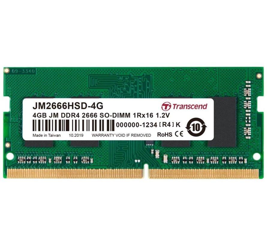 MEM  4GB DDR4 2666 MHz SODIMM
