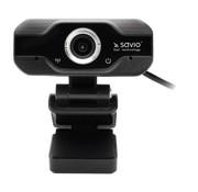 OEM Savio CAK-01 webcam 1920 x 1080 Pixels USB Zwart
