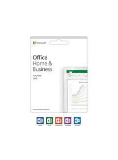 Microsoft Office 2019 Home & Business Volledig 1 licentie(s) /UK/ Multi Language