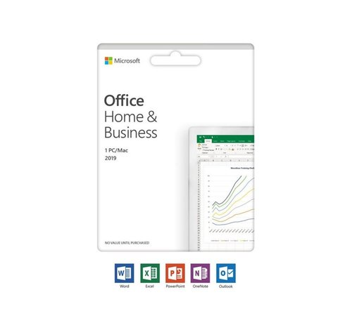 Microsoft Office 2019 Home & Business UK  1 licentie(s)