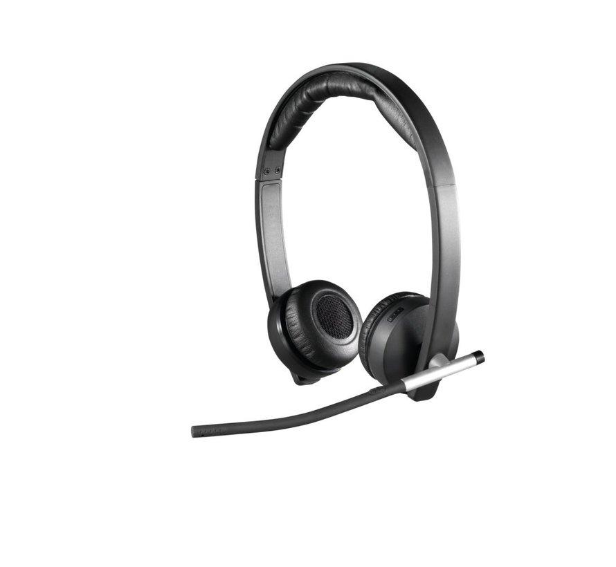 H820e Headset Hoofdband Zwart