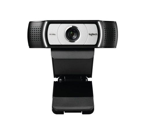 Logitech C930e Webcam F-HD USB Zwart