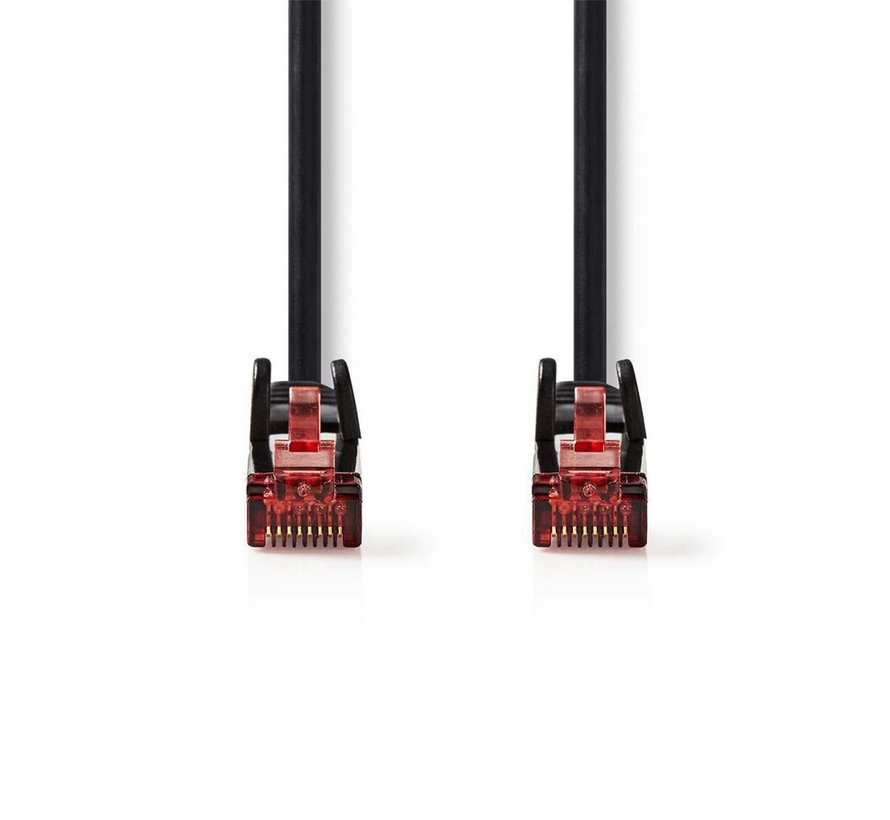 CAT6 UTP-Netwerkkabel/RJ45 1m Zwart