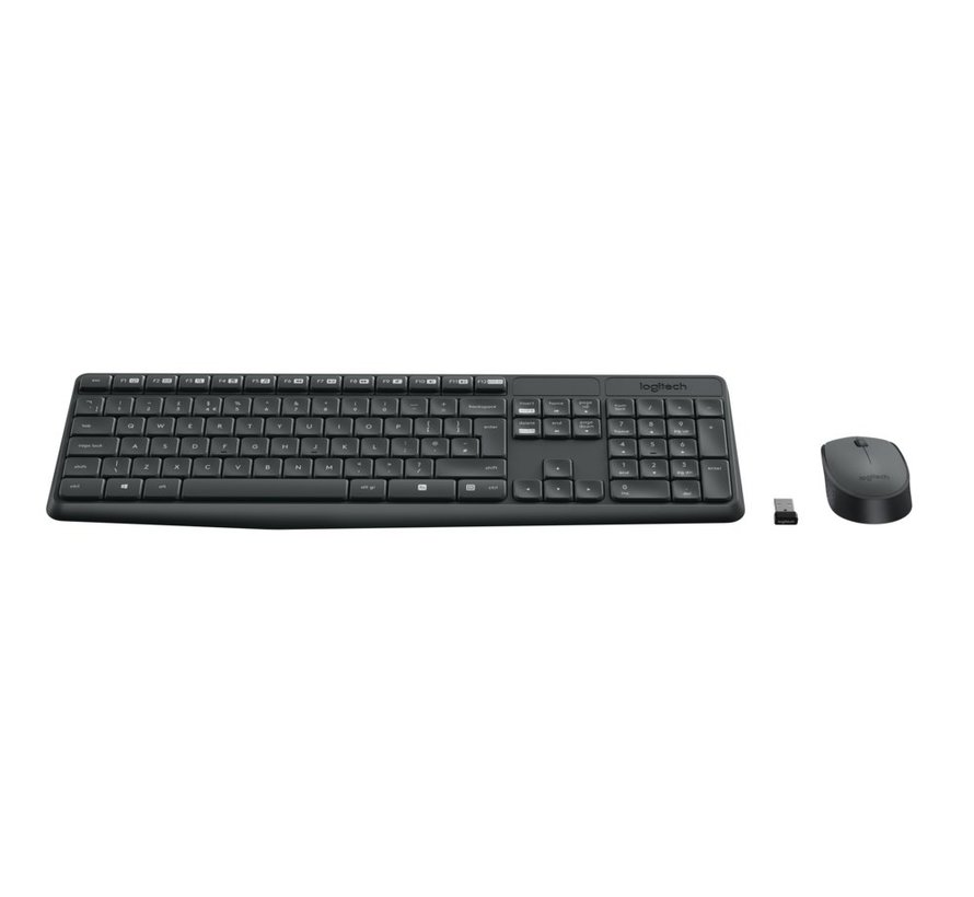 Ret. Wireless Desktopset Keyboard  + Mouse MK235