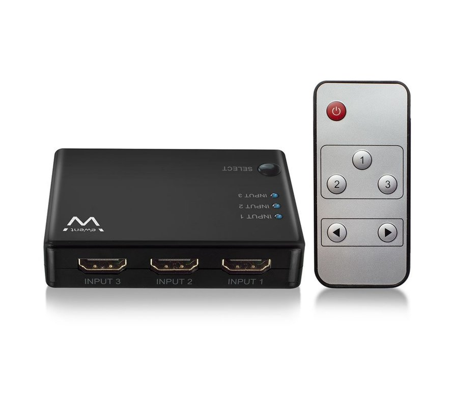 HDMI Switch 3 port 4K@30Hz