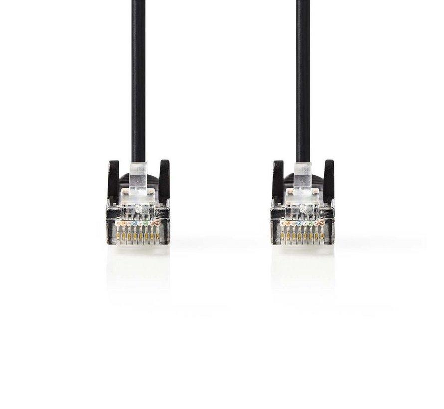 CAT5e UTP-Netwerkkabel/RJ45 2m Zwart
