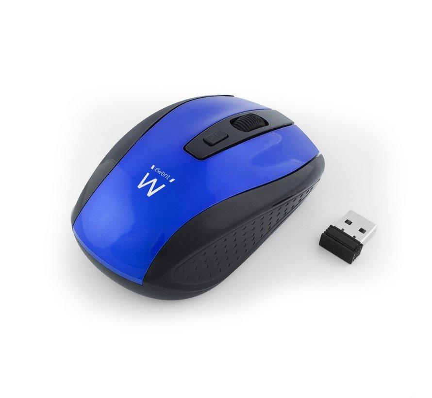 Wireless mouse blue 1000/1200/1600dpi