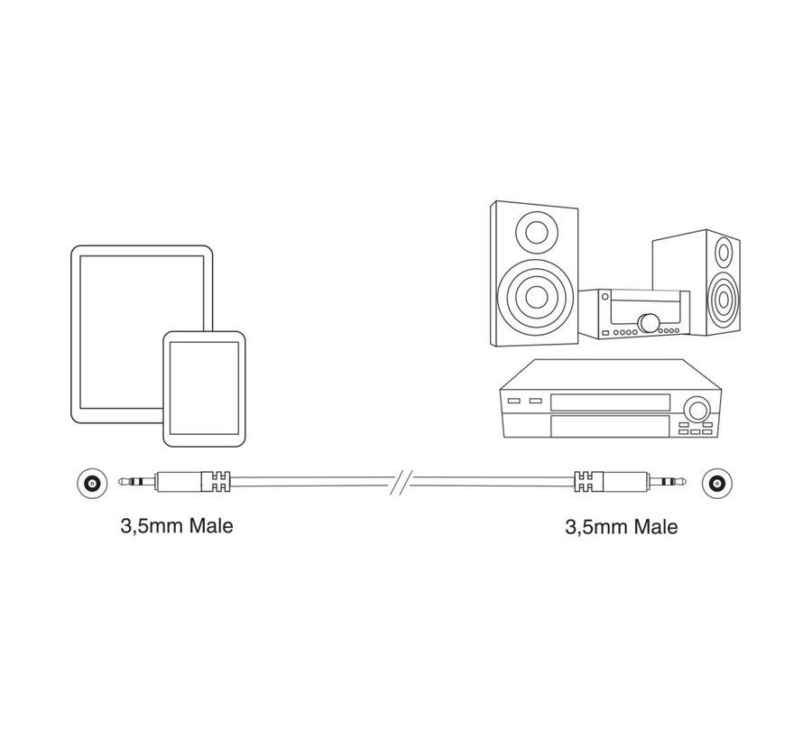 Professional Audio Connection Cable Mini Jack M-M