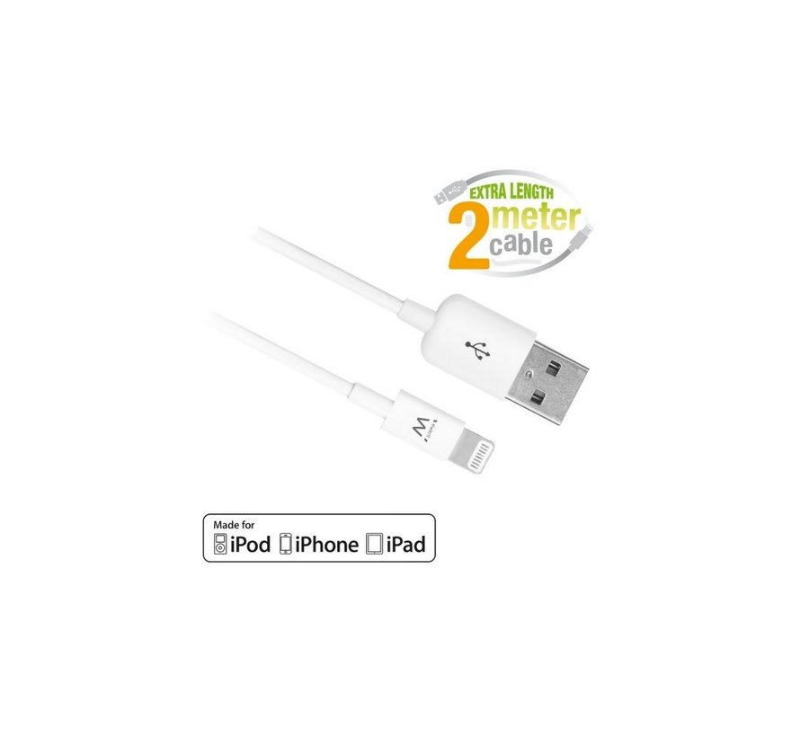 USB Lightning Cable for Apple 2.0M