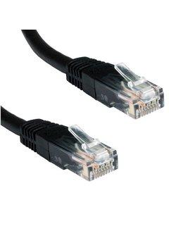 Ewent 5.0m Cat5e UTP netwerkkabel 5 m U/UTP (UTP) Zwart