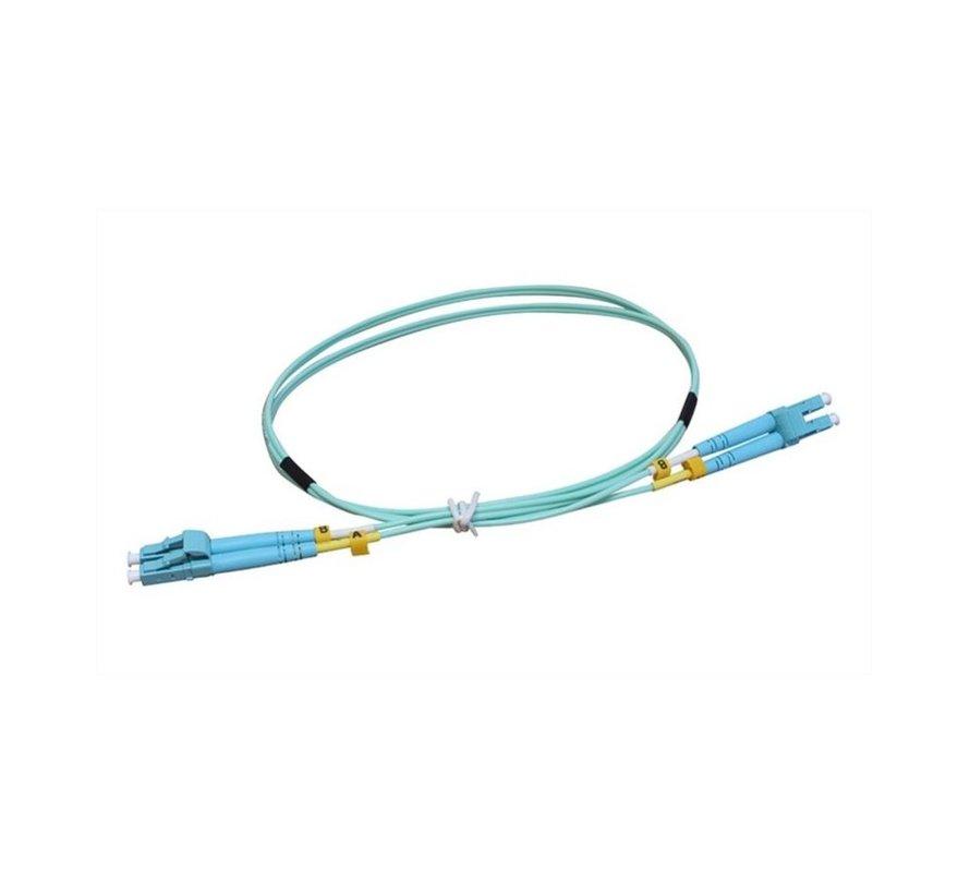 Networks UniFi ODN 1m Glasvezel kabel OM3 LC Aqua-k