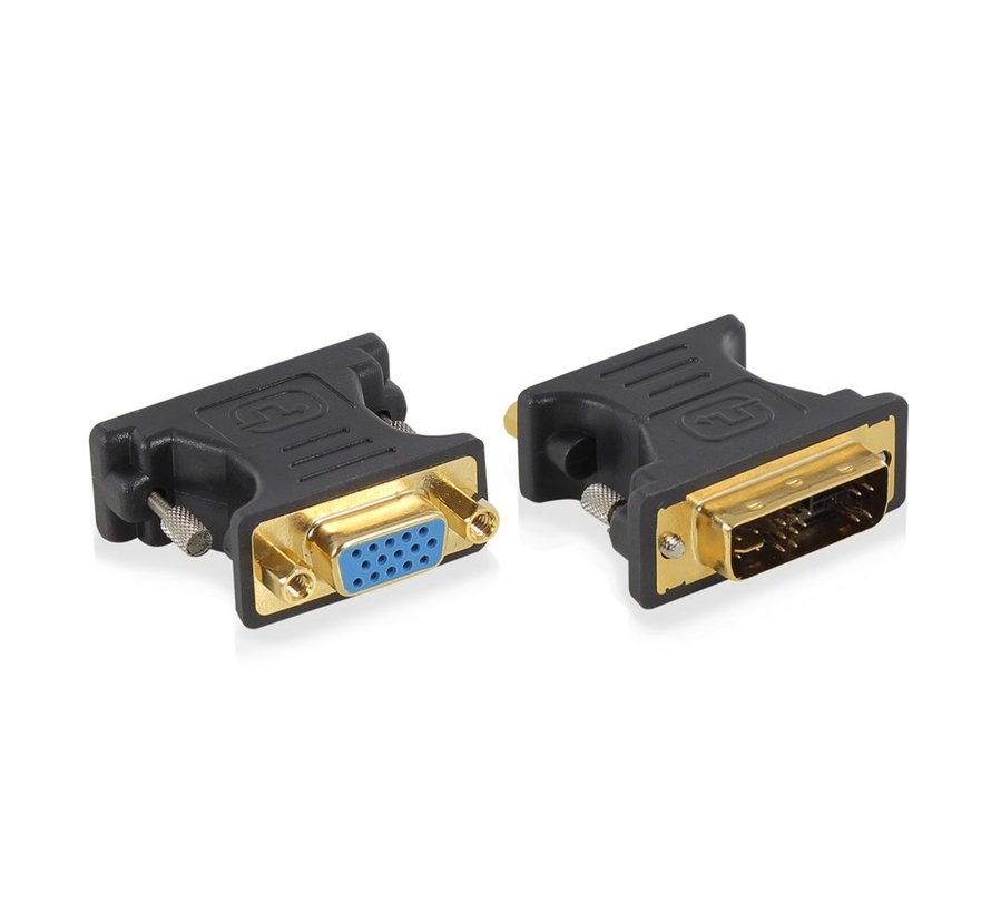 Adapter DVI-A male - VGA female