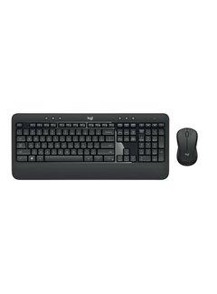 Logitech MK540 toetsenbord RF Draadloos QWERTY US International Zwart, Wit