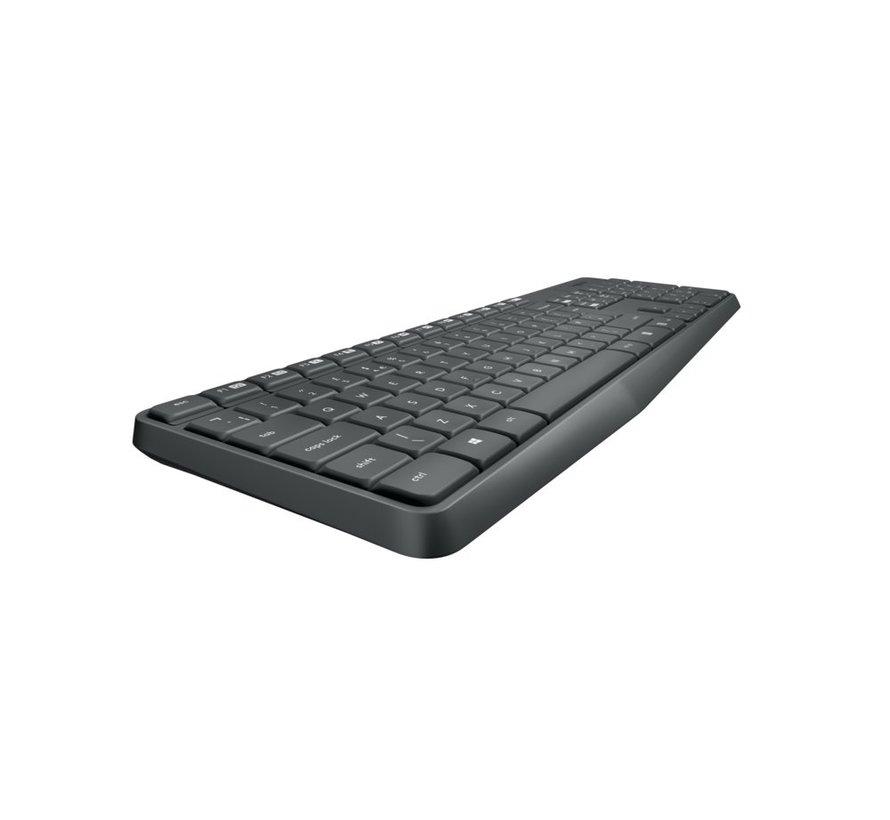Ret. Wireless Desktopset Keyboard  + Mouse MK235