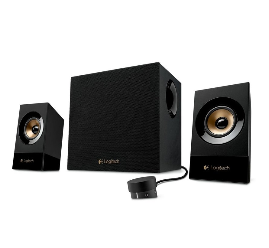Z533 Multimedia Speaker System 2.1 Black