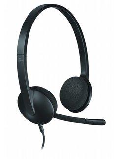 Logitech H340 USB Computer Headset Met digitale audio