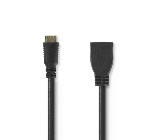 OEM Kabel High Speed HDMI ethernet HDMI mini-connector 0.2m