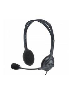 Logitech H111 Headset Hoofdband 3,5mm-connector Grijs