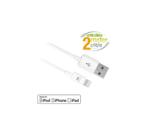 Ewent USB Lightning Cable for Apple 2.0M