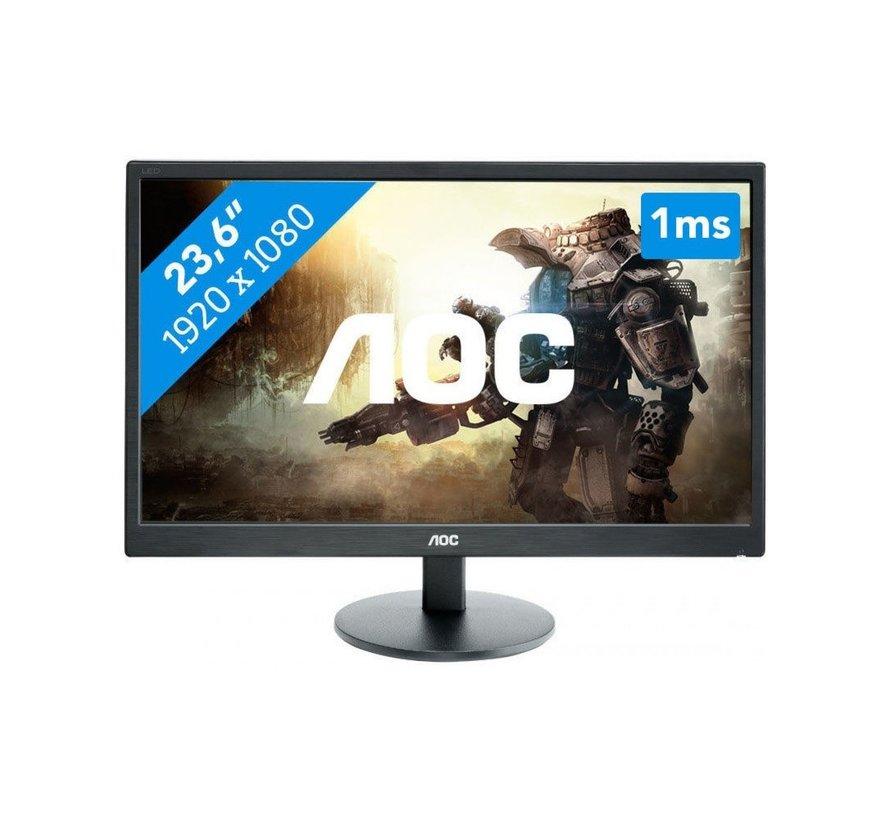 MON  23.6 inch / F-HD / DVI-D / VGA / HDMI / SPK