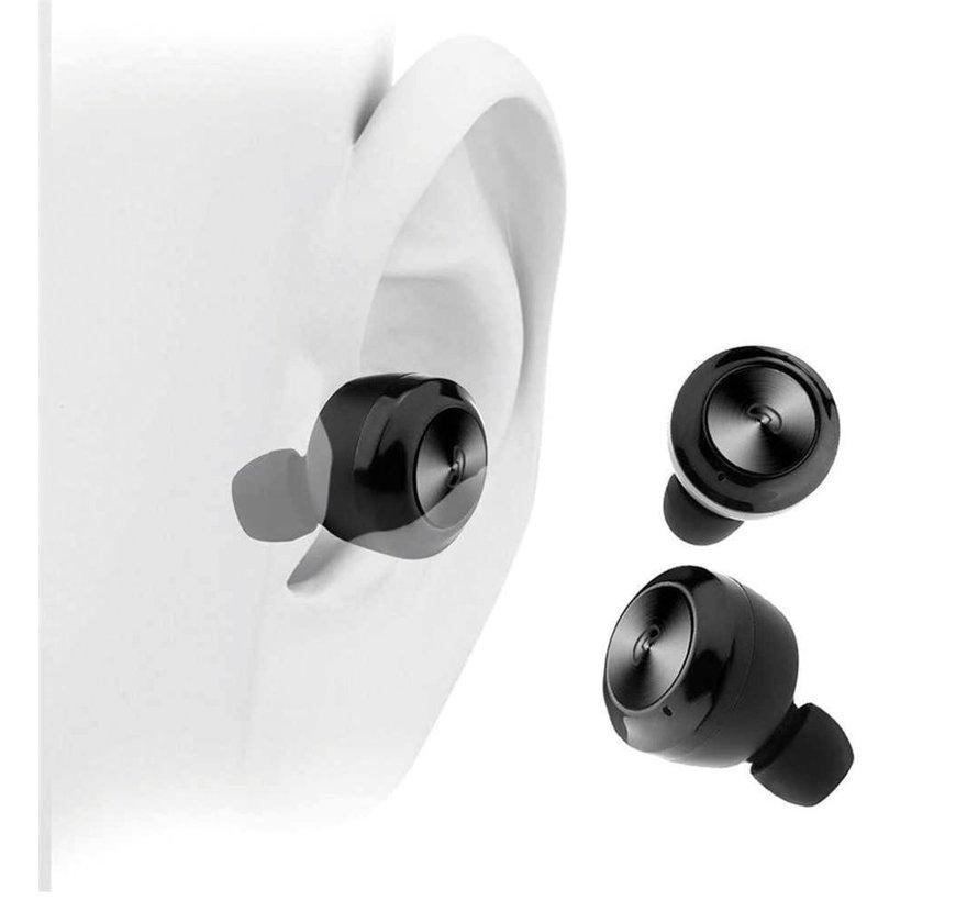 Bluetooth Wireless Earph. mic Sport + Dock / Black