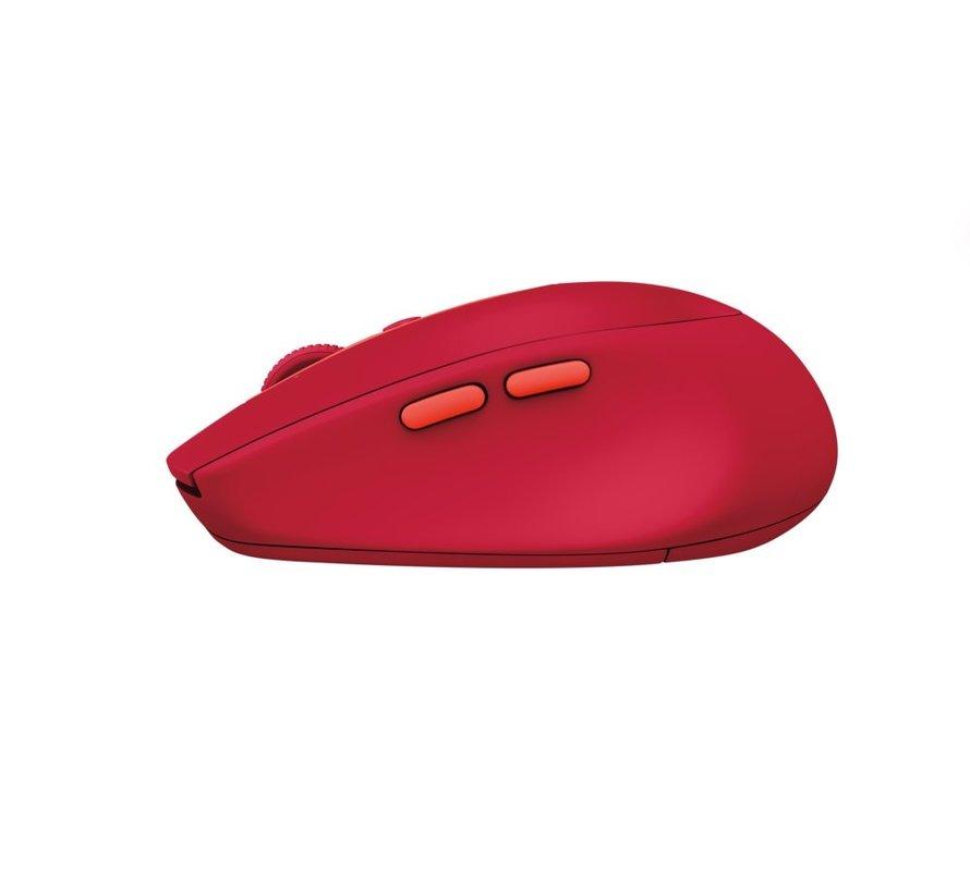 M590 muis RF draadloos + Bluetooth 1000 DPI Red