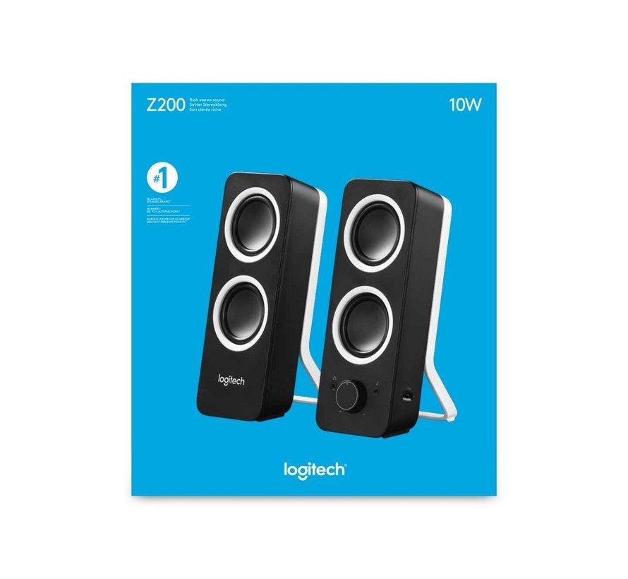 Z200 Speakerset 2.0 Midnight Black