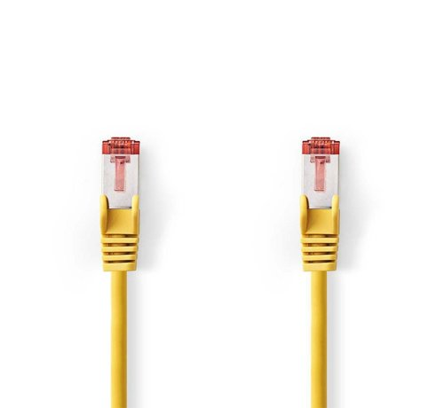 Nedis CAT6 SFTP-Netwerkkabel RJ45 Male - RJ45 Male Geel