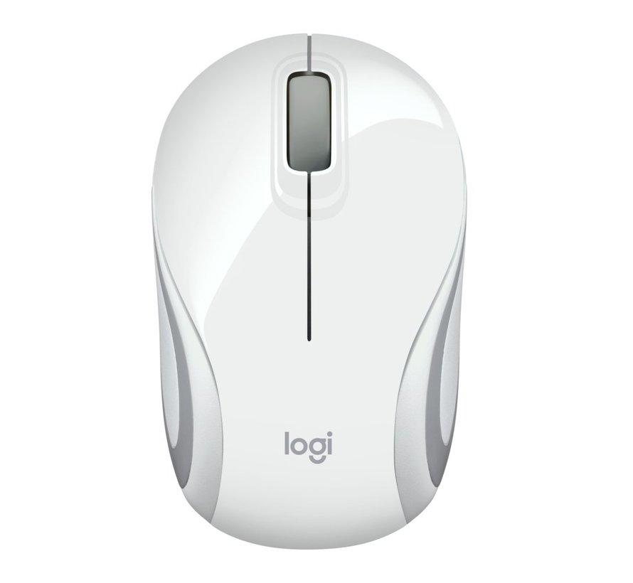 M187 Wireless Mini Mouse White