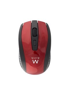 Ewent Wireless mouse red 1000/1200/1600dpi / RED